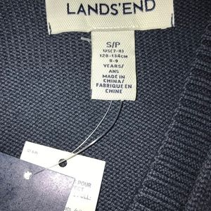 41de92cea9b Lands End Shirts   Tops - Lands End Girls Drifter Button Front Cardigan - Sm